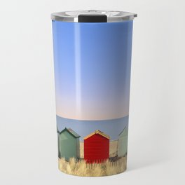Beach Huts at Southwold (Suffolk/Great Britain) Travel Mug