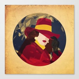 Gentlewoman thief Canvas Print