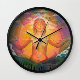 Eternal Sunrise Wall Clock