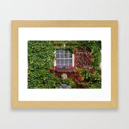 The Artist's Window Framed Art Print