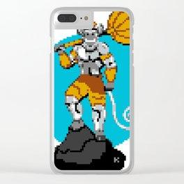 Hanuman Pixel Art Clear iPhone Case