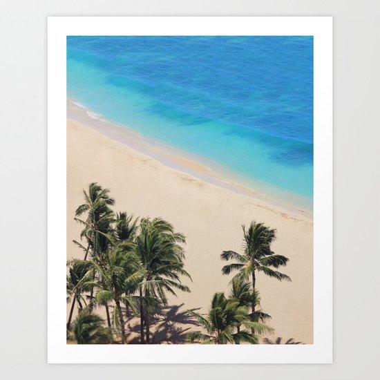 Hawaii Dreams Art Print