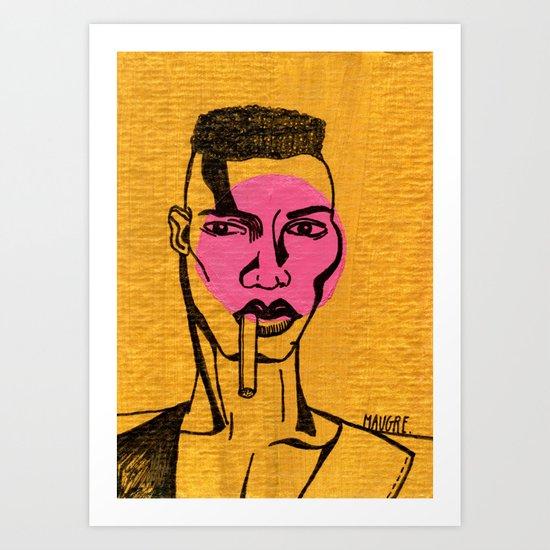 grace jones. Art Print