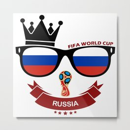 FIFA WORLD CUP 2018 - RUSSIA Metal Print