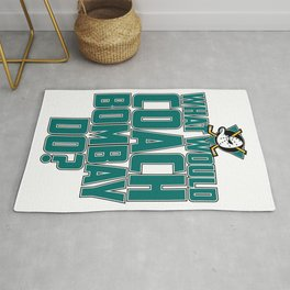 What would Coach Bombay Do? Rug