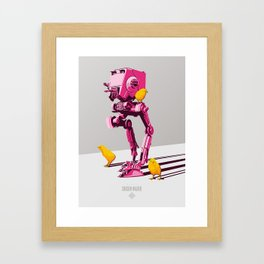 Imperial Chicken Walker Framed Art Print