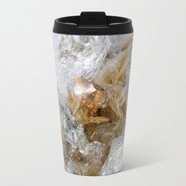 Gold Gemstone Travel Mug