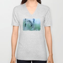 Just There - JUSTART (c) Unisex V-Neck