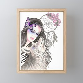 Dreamcatcher Framed Mini Art Print