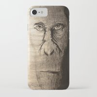 ape iPhone & iPod Cases featuring Ape  by Shuchita
