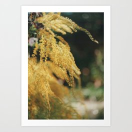 And There Was All Yellow Art Print