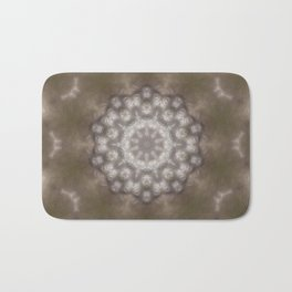 Silver and gold CB Bath Mat