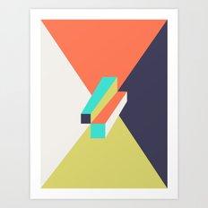 Poligonal 248 Art Print