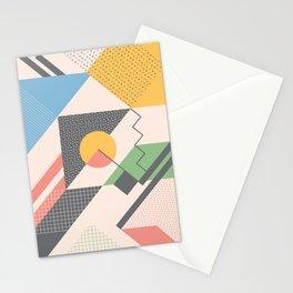 RETROMETRIA CREAM  Stationery Cards