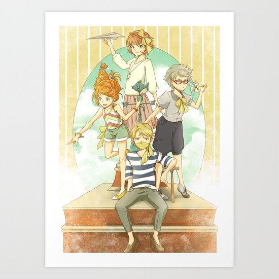 The Mermaid Club Art Print