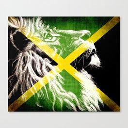 King Of Jamaica Canvas Print