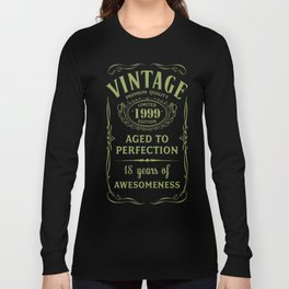Green-Vintage-Limited-1999-Edition---18th-Birthday-Gift---Sao-chép Long Sleeve T-shirt