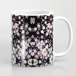 Cascading Pink Flowers Coffee Mug