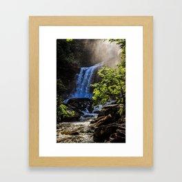 Chasing Waterfalls Framed Art Print
