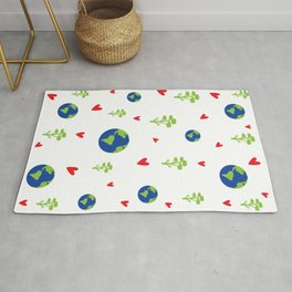 Save the planet Rug