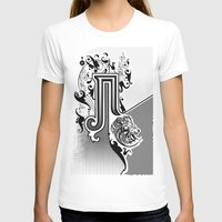 pi T-shirts featuring PI by Artysmedia