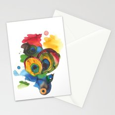 Colorful fish 3 Stationery Cards