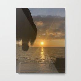 Sunset Chuspa Metal Print