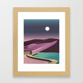 Opal Desert Framed Art Print