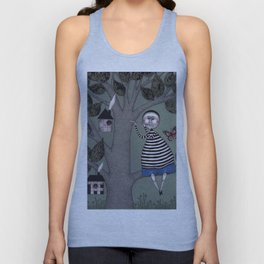 A Day for Sitting in a Tree Unisex Tank Top