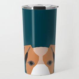 Bailey - Jack Russell Terrier phone case art print gift for dog people Jack Russell Terrier owners Travel Mug