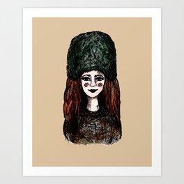 ashlee Art Print