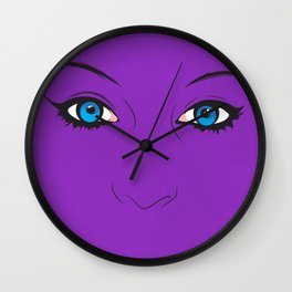 Miss Mysterious  Wall Clock