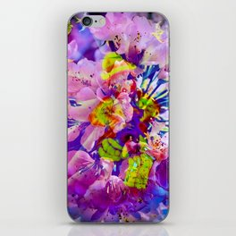 flowers magic iPhone Skin