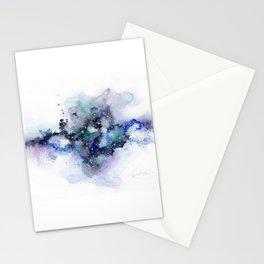 Blue nebula Stationery Cards