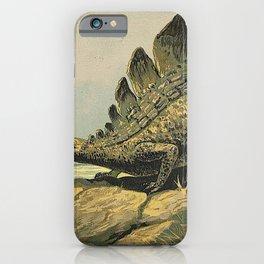 Stegosaurus iPhone Case