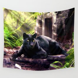 Protector of ancient tempels Wall Tapestry
