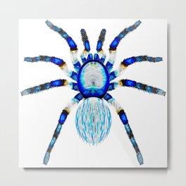 Crystal Ice Spider Metal Print