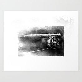 Reel Flyreel Art Print