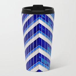 Modern Office Building Glass Architectural Detail Travel Mug