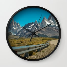 Road to Fitz Roy Wall Clock