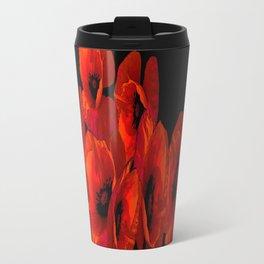 ELEVEN RED POPPIES Travel Mug