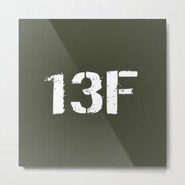 13F Fire Support Specialist Metal Print