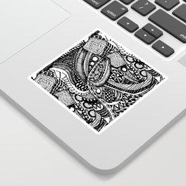 Anti-Matter Pattern Sticker