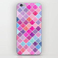 Watercolor Lovely Pattern CII iPhone & iPod Skin