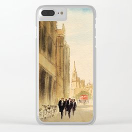 Oxford High Street Clear iPhone Case