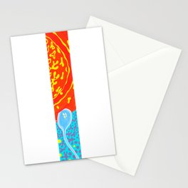 Long Study II Stationery Cards