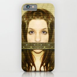Mute witness iPhone Case