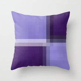 Shades Of Purple Throw Pillow