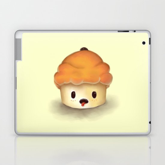 Carrot Cupcake Laptop & iPad Skin