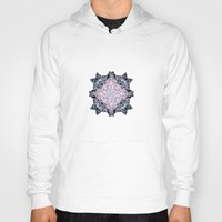 snowflake Hoodies featuring Snowflake. by Assiyam